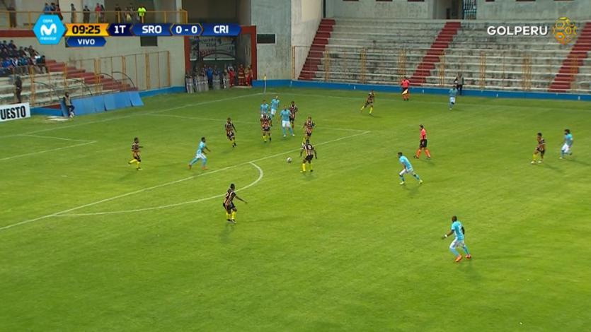 EN VIVO por GOLPERU: Sport Rosario 0-1 Sporting Cristal