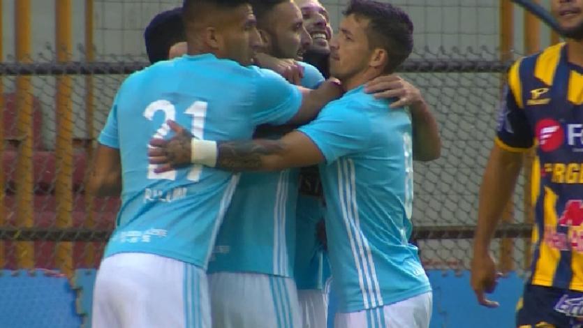 Sporting Cristal gana en Huaraz gracias a Emanuel Herrera