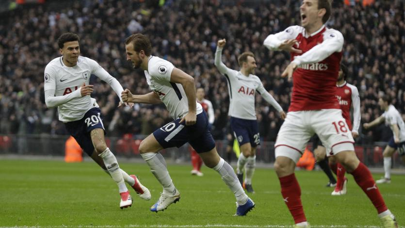 Tottenham venció al Arsenal en el clásico de Londres