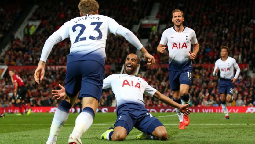 Tottenham golea al Manchester United en Old Trafford (3-0)