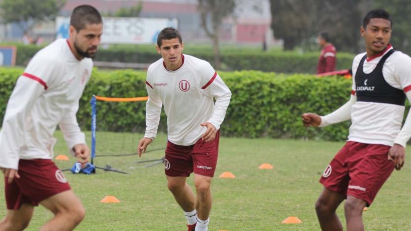 Universitario de Deportes se prepara para enfrentar a Cantolao