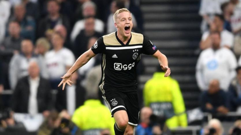 Champions League: Ajax sorprende al Tottenham en el inicio de las semifinales