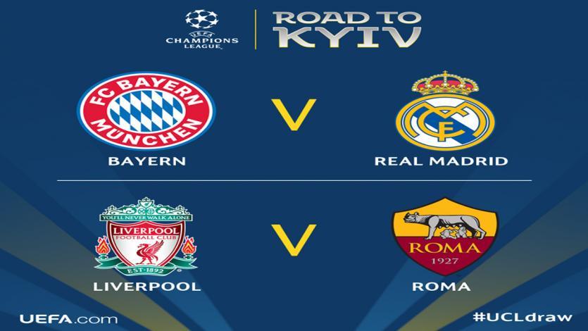 Champions League: ¡Real Madrid enfrentará al Bayern Munich en semifinales!