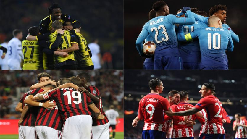 Europa League: estas son las llaves de octavos de final