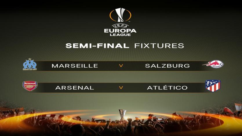 Europa League: Arsenal y Atlético protagonizarán una final adelantada