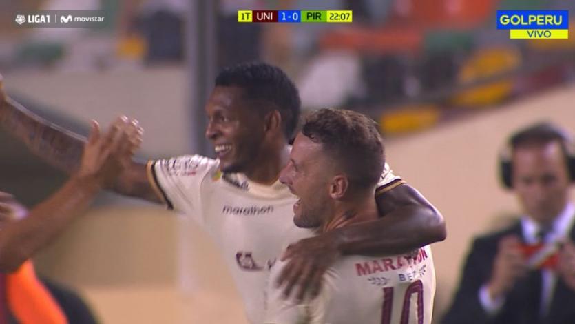 EN VIVO por GOLPERU: Universitario 2-1 Pirata FC
