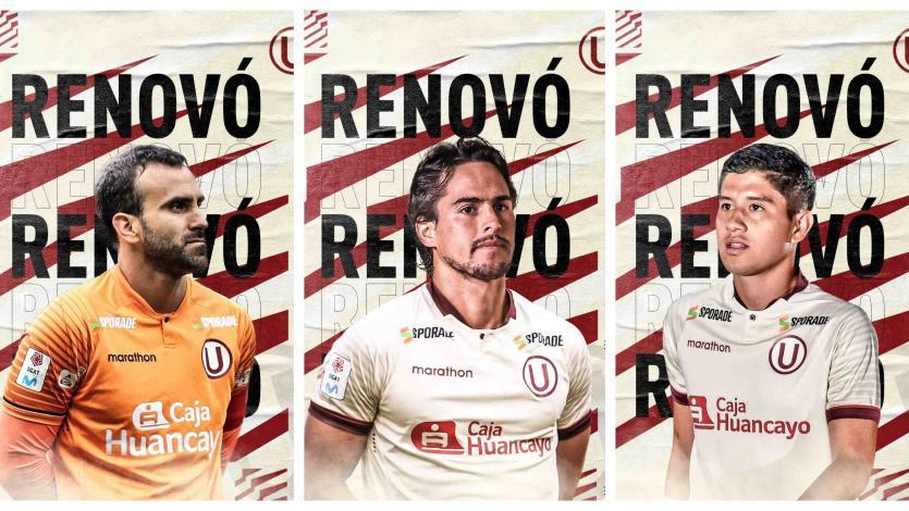 Liga1 Movistar: las renovaciones en Universitario de Deportes