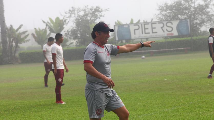Universitario: Pedro Troglio prepara el once que se medirá con Ayacucho FC