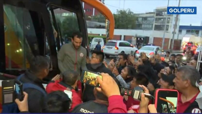 Universitario de Deportes canceló reconocimiento del campo del estadio de Huancayo (VIDEO)
