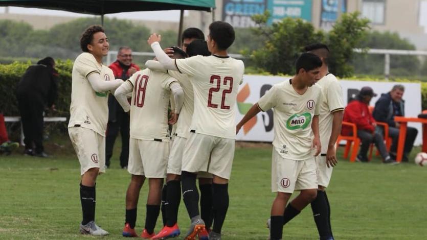 Universitario de Deportes y la Academia Cantolao jugaron partidazo por el Torneo de Reservas