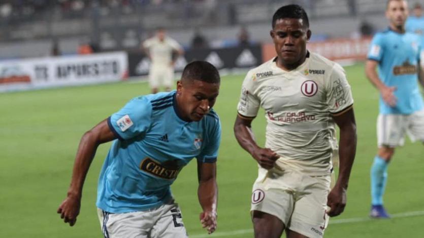 Universitario y Sporting Cristal confirmaron alineaciones para el partido en el Monumental