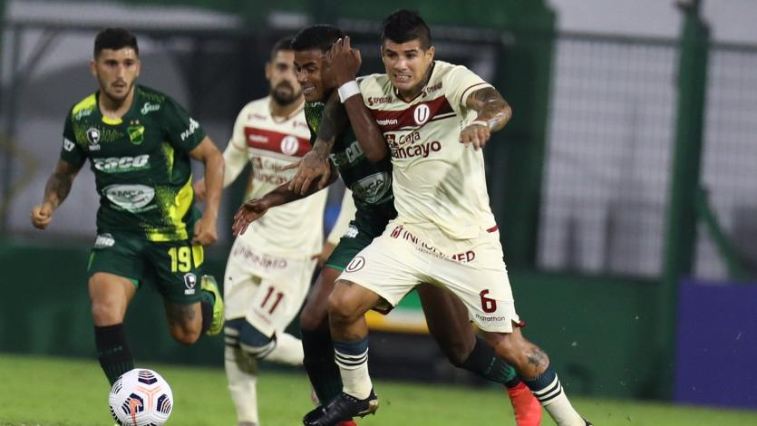 Copa Libertadores: Universitario cayó 3-0 ante Defensa y Justicia en Argentina (VIDEO)