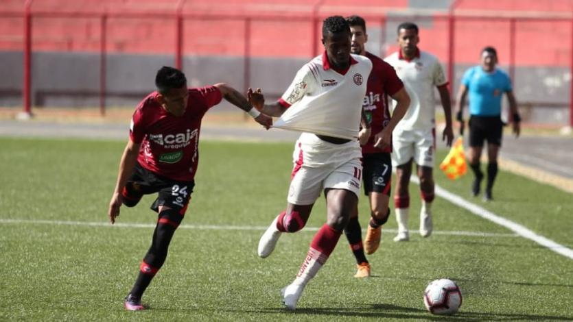 Melgar de Arequipa venció 2-0 a UTC en Cajamarca y se mete a la pelea del Torneo Clausura