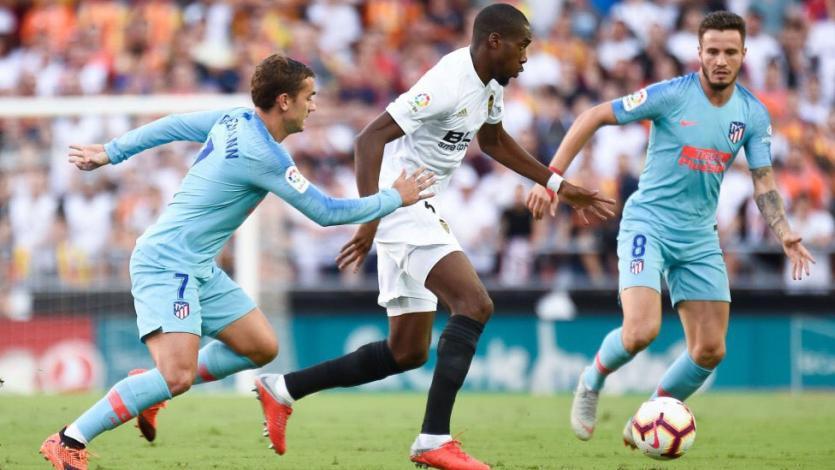 Valencia y Atlético de Madrid igualan en el debut (1-1)