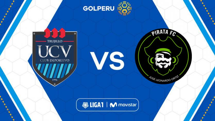 César Vallejo y  Pirata F.C se enfrentan en el estadio Mansiche