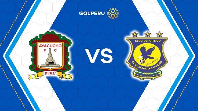 Ayacucho FC y Comerciantes Unidos abren el telón del Torneo Apertura