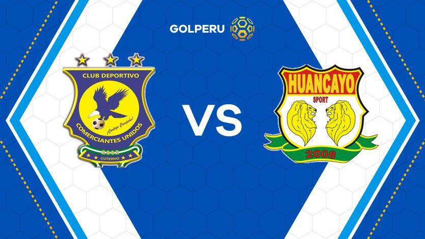 Comerciantes Unidos y Sport Huancayo abren el sábado de Copa Movistar