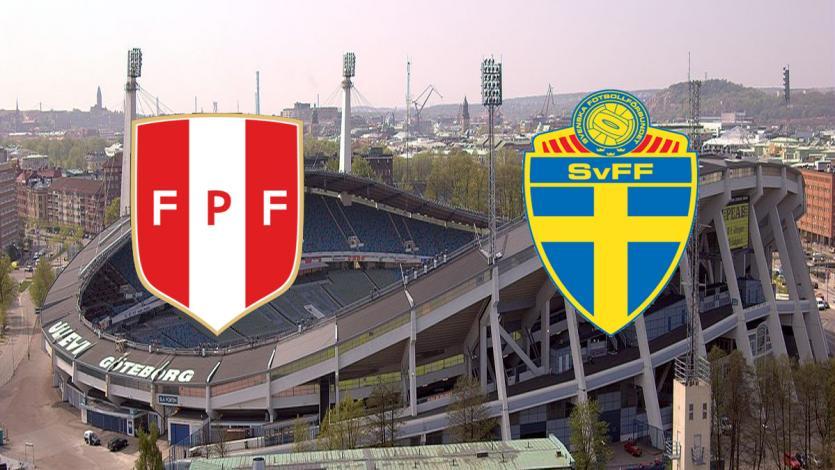 Selección Peruana: se confirmó la sede y el horario del partido ante Suecia