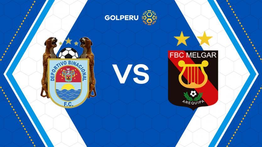 Binacional y Melgar inician el sábado de Copa Movistar