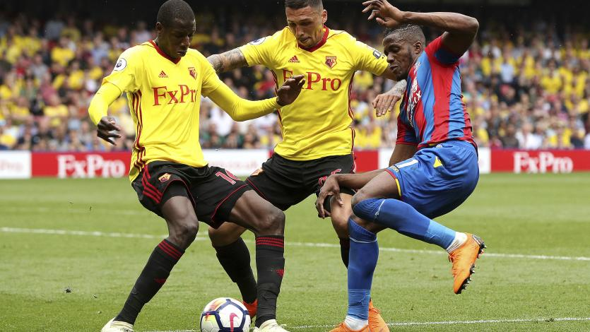 Watford, sin André Carrillo, empató sin goles ante Crystal Palace