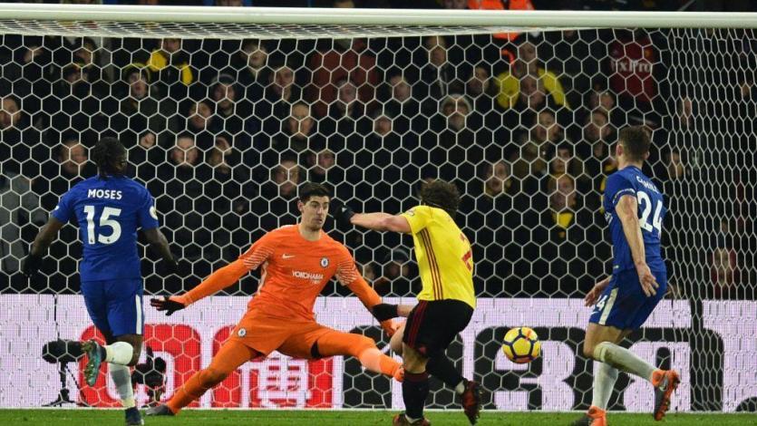 Watford de André Carrillo hunde al Chelsea