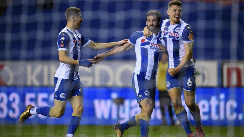 Wigan elimina al Manchester City de la FA Cup