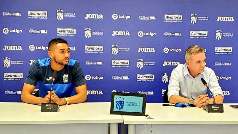 """Aldair Fuentes en su presentación en Fuenlabrada: """"Vengo a un club con muchos objetivos"""" (VIDEO)"""