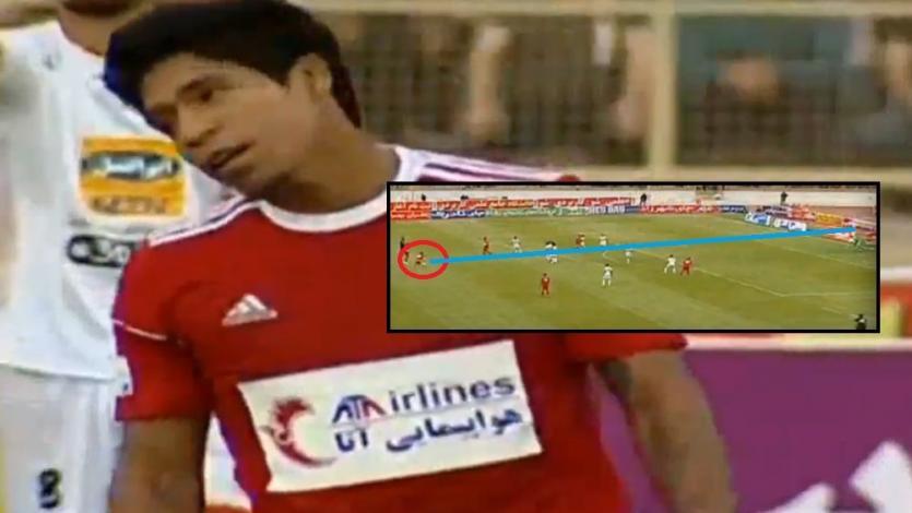 Willyan Mimbela casi marca un golazo de unos 35 metros y fue aplaudido cuando lo cambiaron (VIDEO)