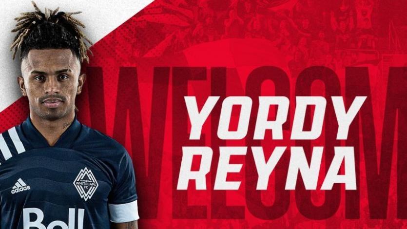 Yordy Reyna será compañero de Edison Flores en el DC United
