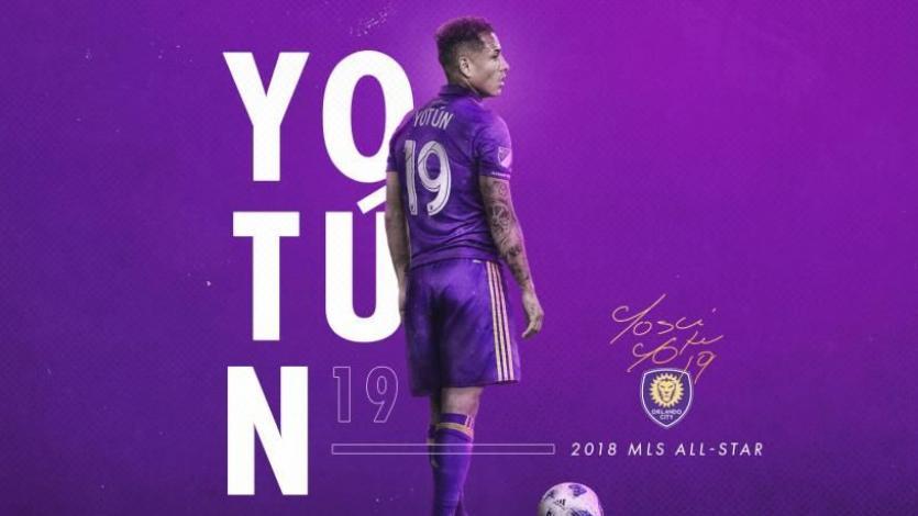 Yoshimar Yotún jugará con los MLS All Stars frente a la Juventus