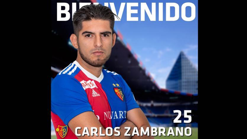 Carlos Zambrano es nuevo jugador del Basilea