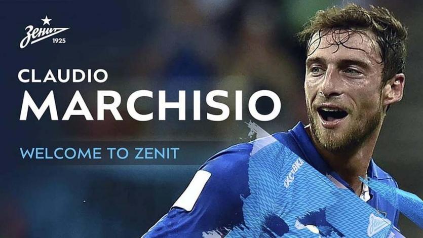 Claudio Marchisio es nuevo jugador del Zenit de San Petersburgo