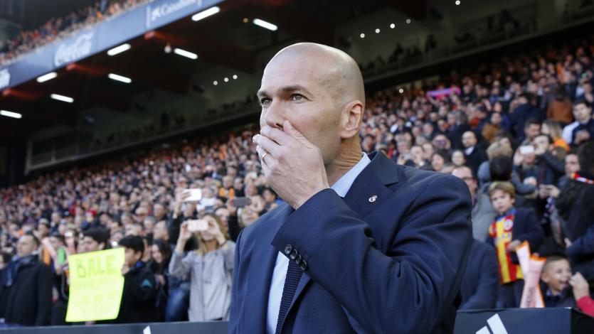 Zinedine Zidane ya tiene el once que enfrentará al PSG