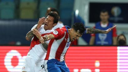 Perú vs Paraguay: Gustavo Gómez se fue expulsado tras agresión a su amigo Gianluca Lapadula (VIDEO)