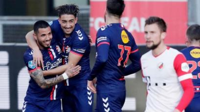 FC Emmen: Sergio Peña fue incluido en el once ideal de la fecha 24 de la Eredivisie