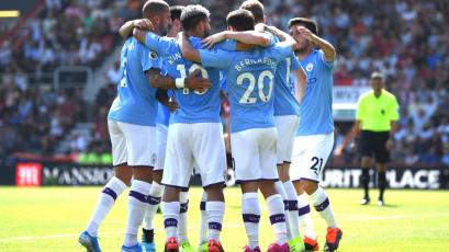 Manchester City vuelve a la victoria frente al Bournemouth