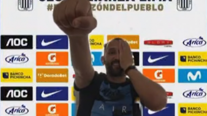 """Hernán Barcos: """"Me gustan los desafíos personales y deportivos"""" (VIDEO)"""
