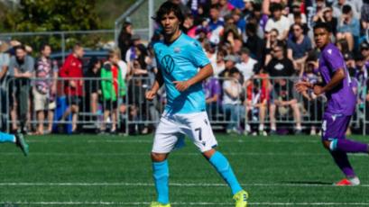 Juan Diego Gutiérrez se lució con un golazo en la Liga de Canadá (VIDEO)