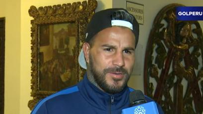 """Juan Pablo Vergara: """"Este partido es lindo para sacar esto adelante"""""""