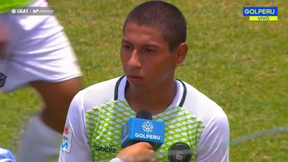 """Erik Perleche: """"No fuimos eficaces para concretar los goles"""""""