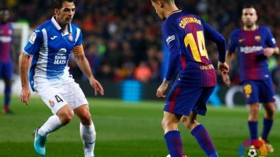 Philippe Coutinho debuta con el Barcelona