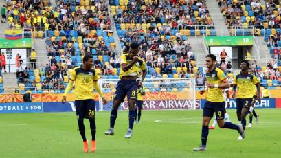 Mundial Sub 20: Ecuador hace historia y se mete a semifinales