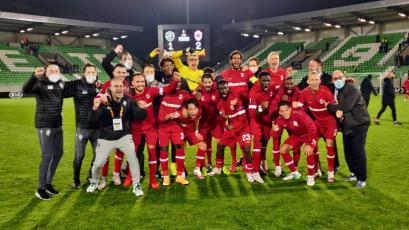 Cristian Benavente debutó con triunfo en la Europa League: Royal Antwerp superó a Ludogorets
