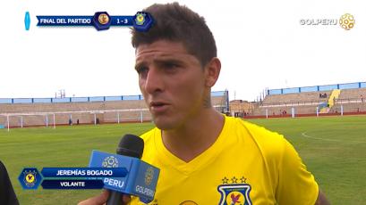 """Jeremías Bogado: """"Contento por marcar dos goles que ayudan al equipo"""""""