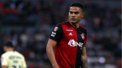 Liga MX: Anderson Santamaría volvió a jugar con el Atlas después de diez meses