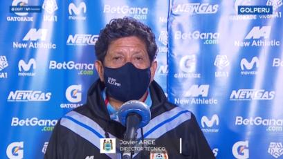 """Javier Arce: """"Independientemente del resultado, no vamos a renunciar a tratar de jugar bien"""""""