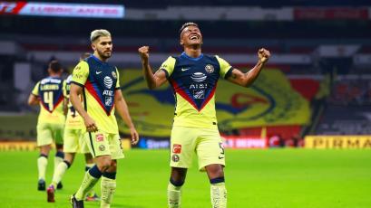 Pedro Aquino anotó su primer gol con el Club América en triunfo de su equipo (VIDEO)
