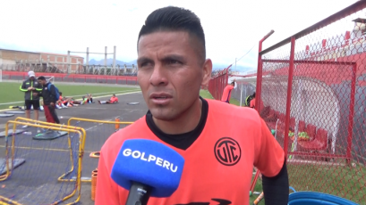 """Diego Penny: """"El nivel de intensidad en los entrenamientos es muy alto"""""""