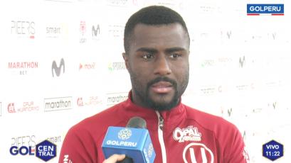 """Christian Ramos: """"Mi primer objetivo es consolidarme en la 'U' para poder llegar a la Selección"""" (VIDEO)"""