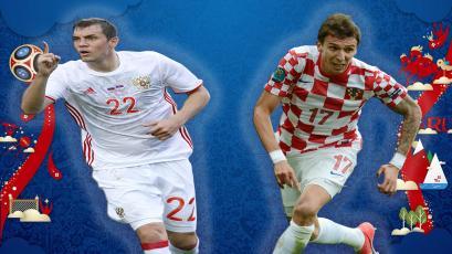 Rusia 2018: conoce las estadísticas previas del partido entre Rusia y Croacia